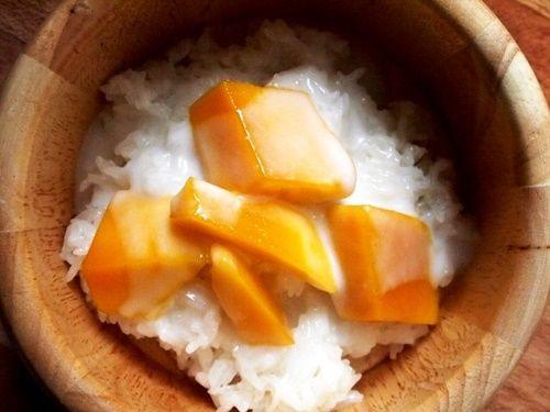 Xôi xoài - món tráng miệng béo bùi đúng vị Thái Lan - Ảnh 12