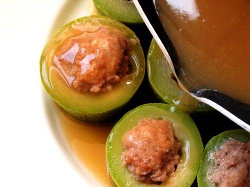 Bí ngòi nhồi thịt – món ăn thanh mát chống háo nước ngon tuyệt - Ảnh 10