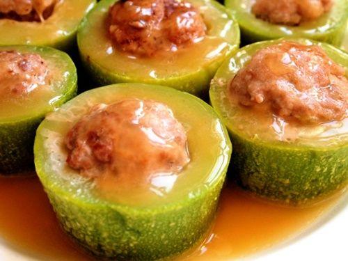 Bí ngòi nhồi thịt – món ăn thanh mát chống háo nước ngon tuyệt - Ảnh 11