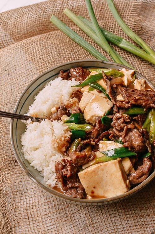 Đậu phụ non sốt thịt bò - món ăn 'chết' cơm mùa lạnh - Ảnh 7
