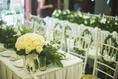 Cặp đôi chi 50 triệu đồngtrang trí nhà ngày cưới bằng hoa lan hồ điệp nhập khẩu - Ảnh 13