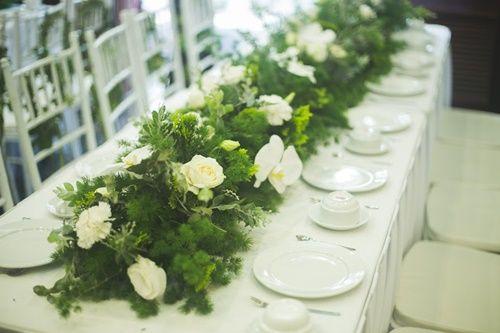Cặp đôi chi 50 triệu đồngtrang trí nhà ngày cưới bằng hoa lan hồ điệp nhập khẩu - Ảnh 15