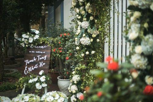 Cặp đôi chi 50 triệu đồngtrang trí nhà ngày cưới bằng hoa lan hồ điệp nhập khẩu - Ảnh 3