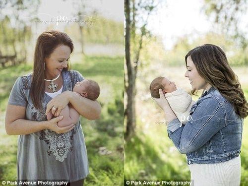 Bà ngoại 48 tuổi sinh cháu trai giúp con gái bị dị tật vô sinh - Ảnh 6
