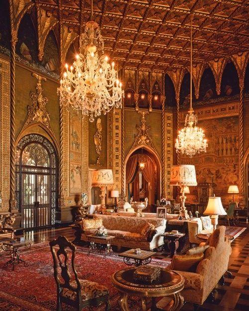 Cận cảnh lâu đài 58 phòng ngủ nơi ông Donald Trump đón lễ Tạ Ơn cùng gia đình - Ảnh 6