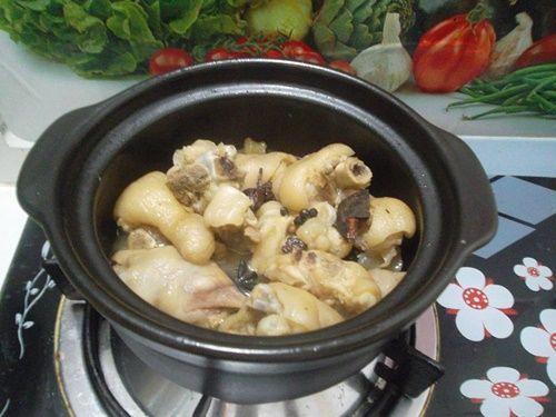 Móng giò hầm ngũ vị - món ăn nóng hổi cho ngày lạnh - Ảnh 6