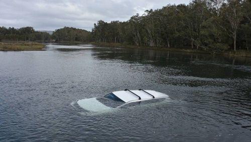 Phi cả xe ô tô xuống hồ chỉ vì một con nhện - Ảnh 1