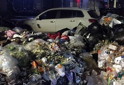 Xe ô tô đỗ trái phép trước trạm rác và kết quả 'nặng mùi' - Ảnh 4