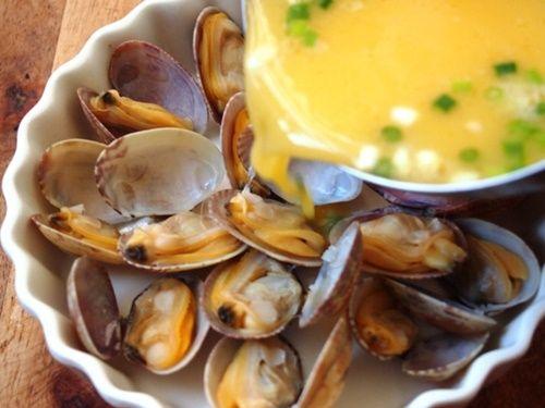 Cách làm trứng hấp ngao tươi thơm ngon bổ dưỡng - Ảnh 5