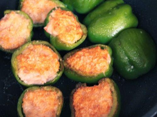 Ớt chuông xanh nhồi tôm – món ăn ngon, đẹp mắt dành cho cả gia đình - Ảnh 13