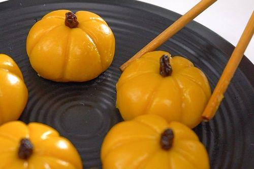 Bánh Mochi bí đỏ - không cần phẩm màu và hương liệu - Ảnh 6