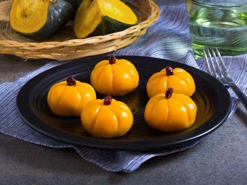 Bánh Mochi bí đỏ - không cần phẩm màu và hương liệu - Ảnh 7