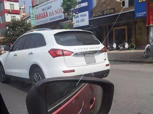 Xe Trung Quốc gắn tên Range Rover gây tò mò trên đường Hà Nội - Ảnh 1
