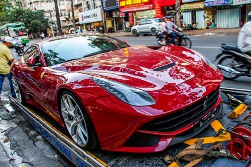 Vẻ đẹp siêu xe Ferrari F12 Berlinetta của đại gia Việt - Ảnh 1