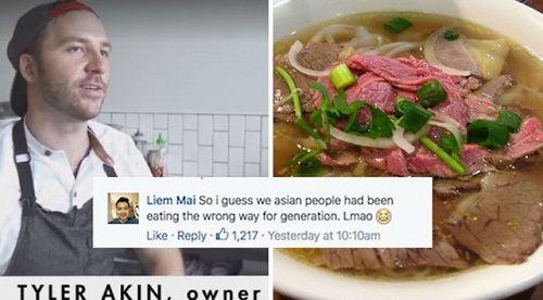Đầu bếp người Mỹ bị 'ném đá' vì dạy cách ăn phở Việt Nam - Ảnh 1