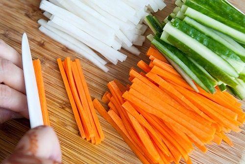 Cách ngâm dưa góp ăn kèm các món nướng, rán chống ngán - Ảnh 3