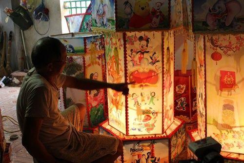 Làng nghề Mật Sơn rộn ràng mùa đèn Trung thu - Ảnh 4