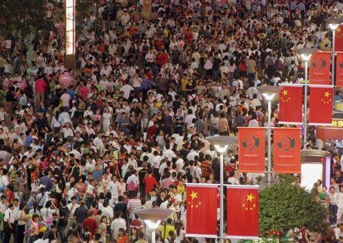 Những hình ảnh chen chúc 'đáng sợ' thường ngày ở đất nước đông dân nhất thế giới - Ảnh 9