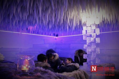 Giới trẻ rủ nhau mặc đồ lạnh uống cà phê âm 10 độ C ở Sài Gòn - Ảnh 9