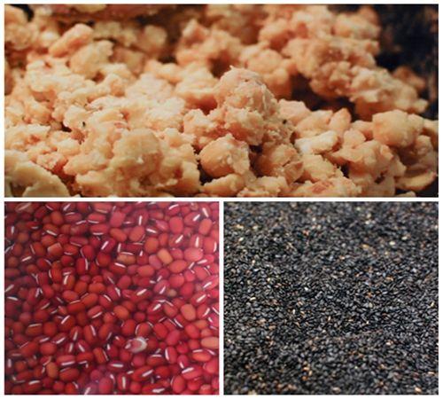 Bánh trung thu mè đen nhân hạt sen đậu đỏ - vừa ngon vừa tốt cho sức khỏe - Ảnh 1