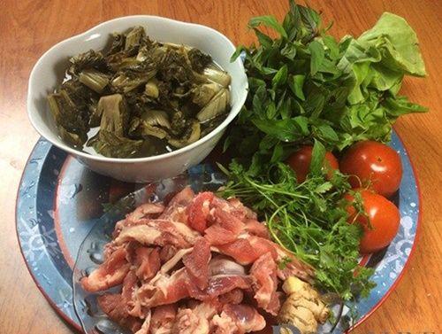 Canh dưa chua nấu gân bò - đơn giản mà ngon miệng - Ảnh 1