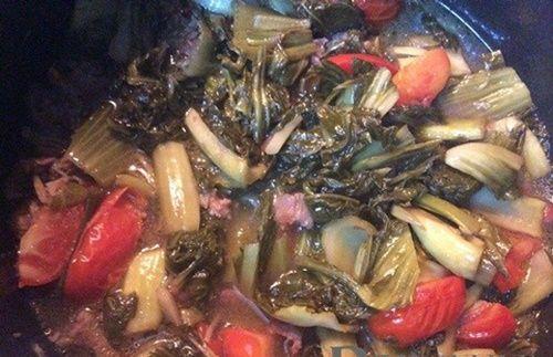 Canh dưa chua nấu gân bò - đơn giản mà ngon miệng - Ảnh 3