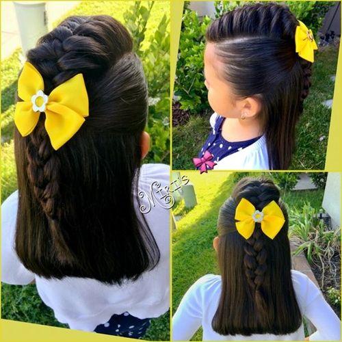 Những kiểu tóc tết đáng yêu cho bé gái đi chơi dịp tết Dương lịch 2018 - Ảnh 2