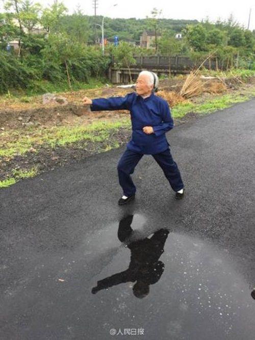 Cụ bà U100 vẫn hàng ngày luyện võ trong suốt 90 năm - Ảnh 5