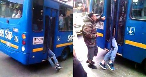 Màn bắt kẻ trộm có 1-0-2 đầy ngoạn mục của tài xế xe buýt - Ảnh 1