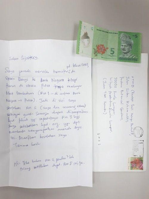 Suy ngẫm về bức thư xin lỗi và hơn 1 đô la trả món nợ từ 16 năm trước - Ảnh 1