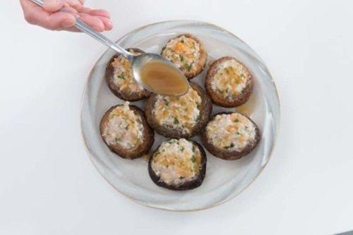 Nấm nhồi thịt – món ăn cả nhà đều thích mê - Ảnh 10