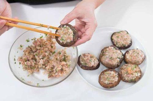 Nấm nhồi thịt – món ăn cả nhà đều thích mê - Ảnh 7