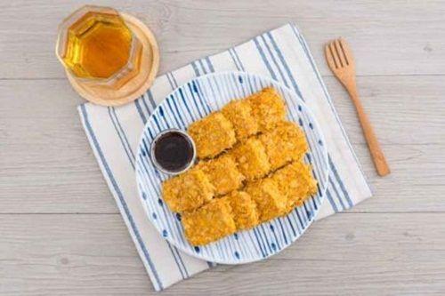 Cách làm món viên Nugget nổi tiếng của Mc Donal dành cho người ăn chay - Ảnh 7
