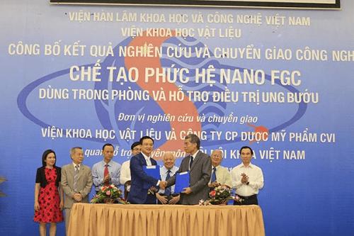Việt Nam chế tạo thành công phức hệ Nano FGC cho bệnh nhân ung bướu - Ảnh 1
