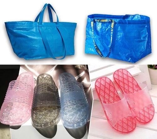 Bất ngờ túi xách hàng hiệu của Itali trông như túi đi chợ của bà nội trợ Việt Nam - Ảnh 2