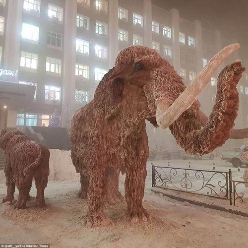 Tò mò cuộc sống tại ngôi làng lạnh nhất thế giới: Vừa ra đường, lông mi đã đóng băng - Ảnh 5