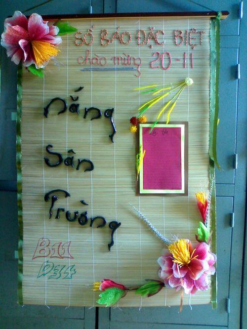 Những dụng cụ thiết yếu để làm một tờ báo tường đẹp nhân ngày 20/11 - Ảnh 2