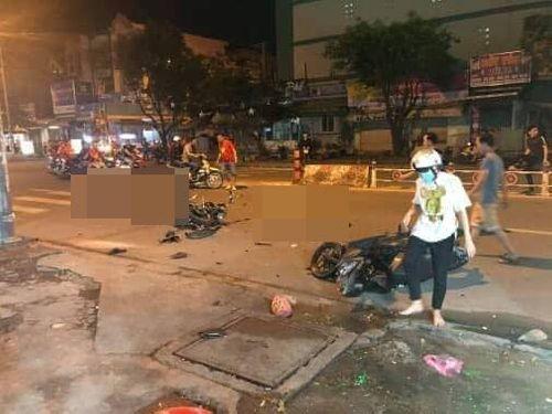 """Những tai nạn giao thông đáng tiếc trong đêm đi """"bão"""" ăn mừng tuyển Việt Nam vô địch AFF cup 2018 - Ảnh 2"""
