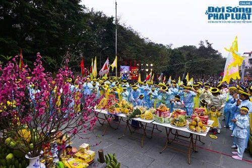 Tưng bừng cờ hoa lễ hội Gò Đống Đa mùng 5 Tết - Ảnh 12