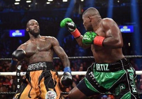 """WBC quyền anh hạng nặng: """"King Kong"""" Luis Ortiz bị nốc ao sau 10 hiệp - Ảnh 1"""