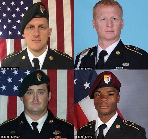 IS tung video gây sốc cảnh tập kích giết 4 lính Mỹ ở Nigeria - Ảnh 3