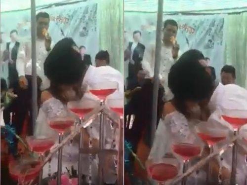 Đám cưới chú rể 28 tuổi, cô dâu 48 tuổi ở Nam Định dậy sóng mạng - Ảnh 1