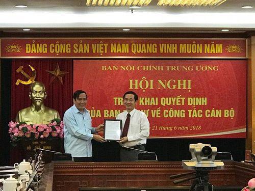 Trưởng Ban Nội chính Tỉnh ủy Phú Yên được bổ nhiệm làm Phó Ban Nội chính Trung ương - Ảnh 2