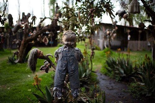 Du khách kéo nhau tới Mexico để xem đảo Búp bê rùng rợn như Annabelle - Ảnh 5