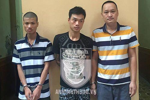 Bắt giữ hai đối tượng trộm cắp xe máy liên hoàn ở Hà Nội - Ảnh 1
