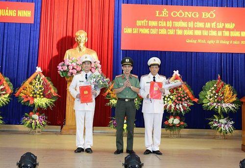 Bộ Công an điều động thêm 2 PGĐ cho Công an tỉnh Quảng Ninh - Ảnh 1