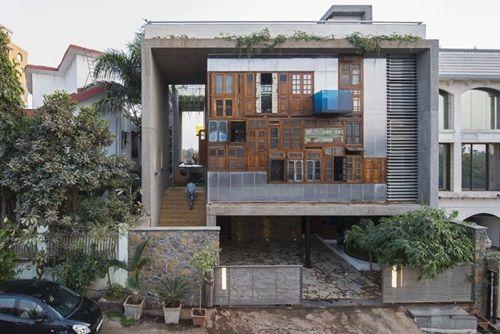 Cận cảnh những tòa nhà đẹp được xây bằng vật liệu tái chế từ rác thải - Ảnh 2