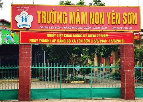 """Ninh Bình: Trường mầm non bị """"tố"""" thu sai phạm trả lại hơn 230 triệu đồng cho phụ huynh - Ảnh 1"""