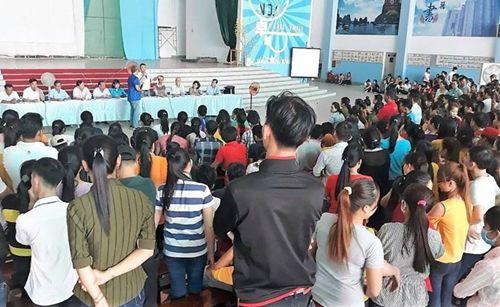 10 ngàn công nhân mất việc Trà Vinh đã nhận lương, thưởng Tết - Ảnh 2