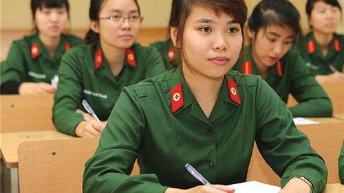 Tiêu chuẩn xét tuyển sinh vào khối trường quân đội năm 2019 - Ảnh 1